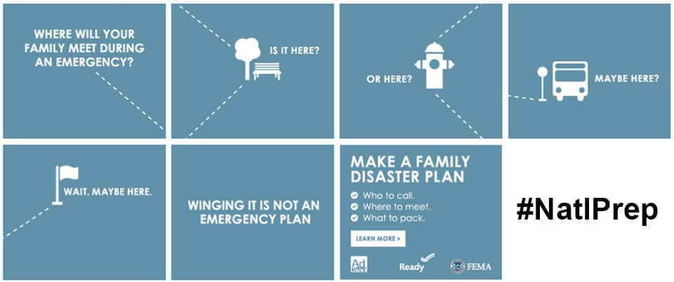 Where will you have your family meet after an emergency? | PreparednessMama