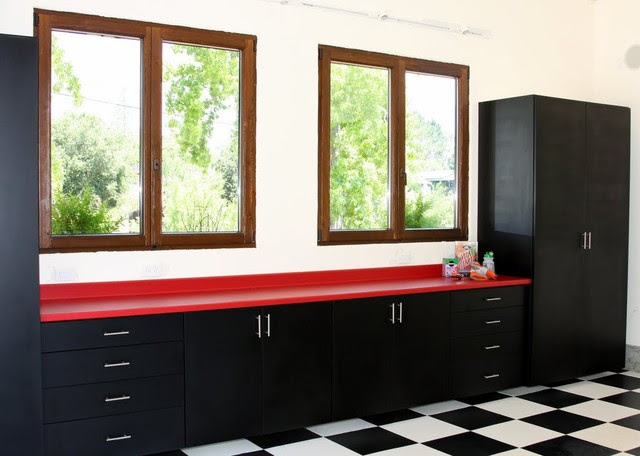 Custom Garage Cabinetry by Valet Custom Cabinets & Closets ...
