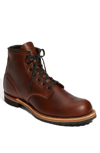 Red Wing Lace-Up Work Boot