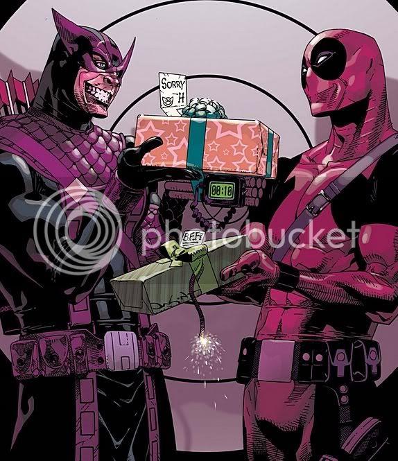 Mercenário vs Deadpool