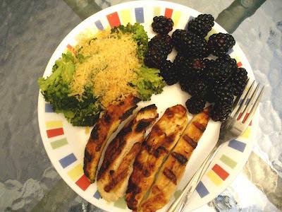 Chicken & broccoli dinner