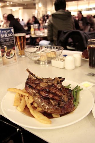 Rib Eye Steak at Margo's (Crown)