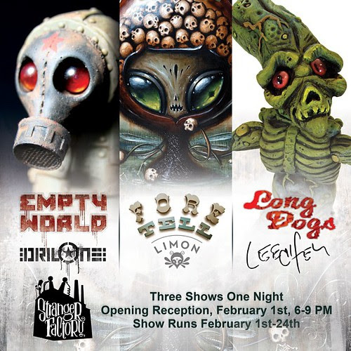 3 shows on February 1st 2013 at @strangerfactory  @leecifer1 @jasonlimon  @circusposterus