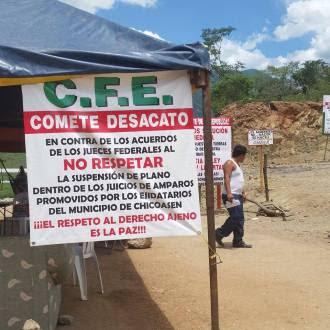 Chiapas: Detienen a abogado del Comité Ejidal de afectados por la presa Chicoasen II