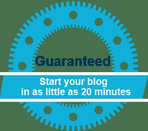 Langkah 1 : Memulai membuat Blog
