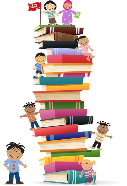Gambar Animasi Siswa Membaca Buku Guru Ilmu Sosial