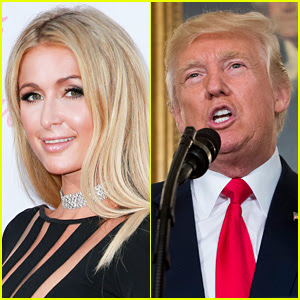 Paris Hilton Defends Donald Trump's 'Grab Them By the P--sy' Comments