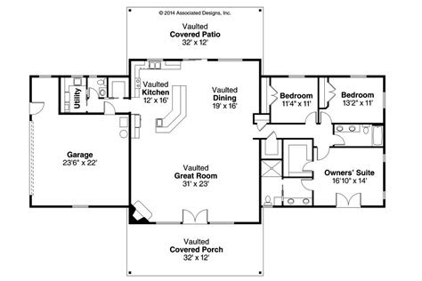 simple ranch house floor plans unique ranch house plans