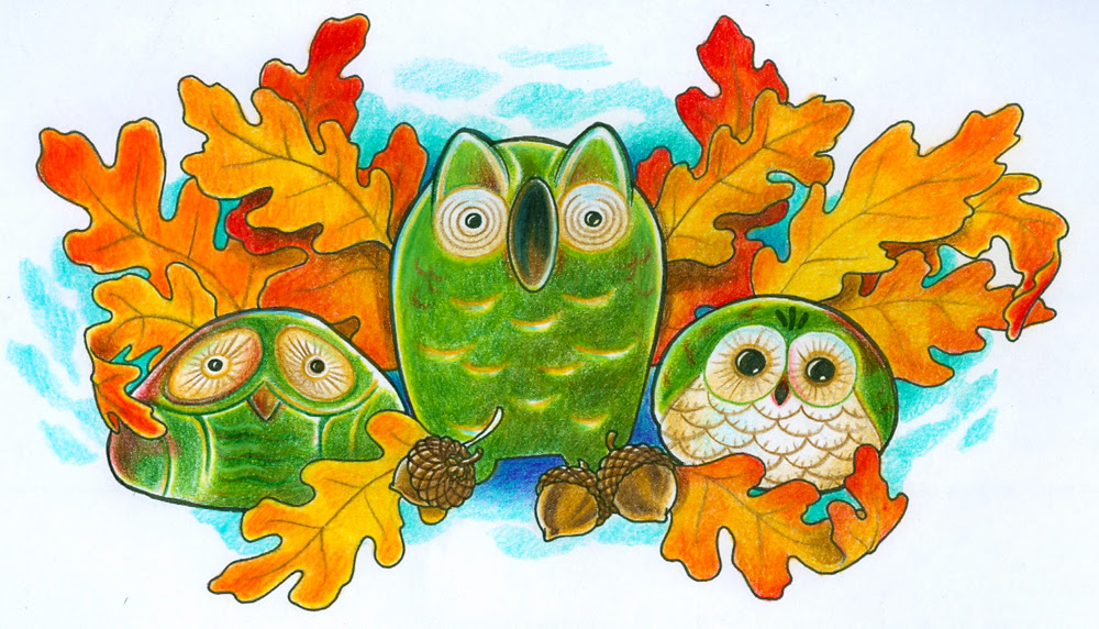 Pictures Of Owls To Colour. I adore Owls, and these owls
