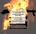 Firefighting Equipment Silhouettes Woodworking Pattern - fee plans from WoodworkersWorkshop® Online Store - firefighting equipment,fire hydrants,fire extinguishers,firefighters,fireman,firemen,yard art,painting wood crafts,scrollsawing patterns,drawings,plywood,plywoodworking plans,woodworkers projects,work