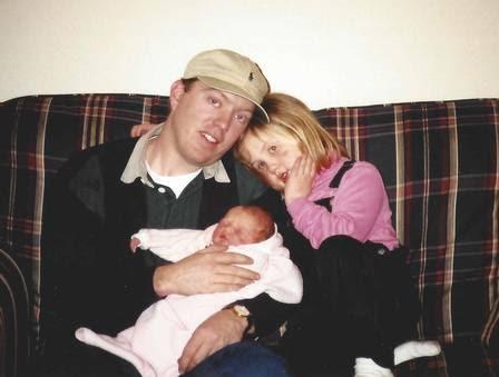 Patrick Hardison antes do incêndio em 2001