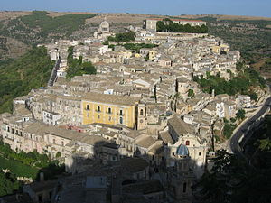 Panorama of Ragusa