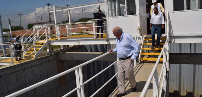 Con Estación de Bombeo Paso del Comercio la ciudad  minimiza posibilidades de inundarse