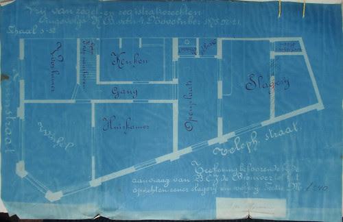 Blauwdruk Tuinstraat 58