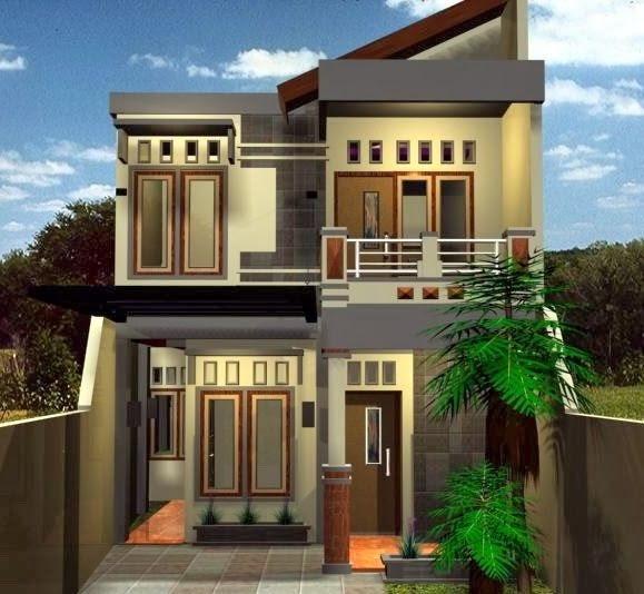 Gambar Rumah Minimalis Dua Lantai 2020 Rumah Agus