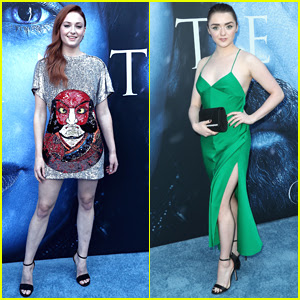 Sophie Turner Joins Maisie Williams at the 'Game of Thrones' Season 7 Premiere