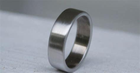 Shotgun Metal Ring / Classic Wedding Band / Mens and