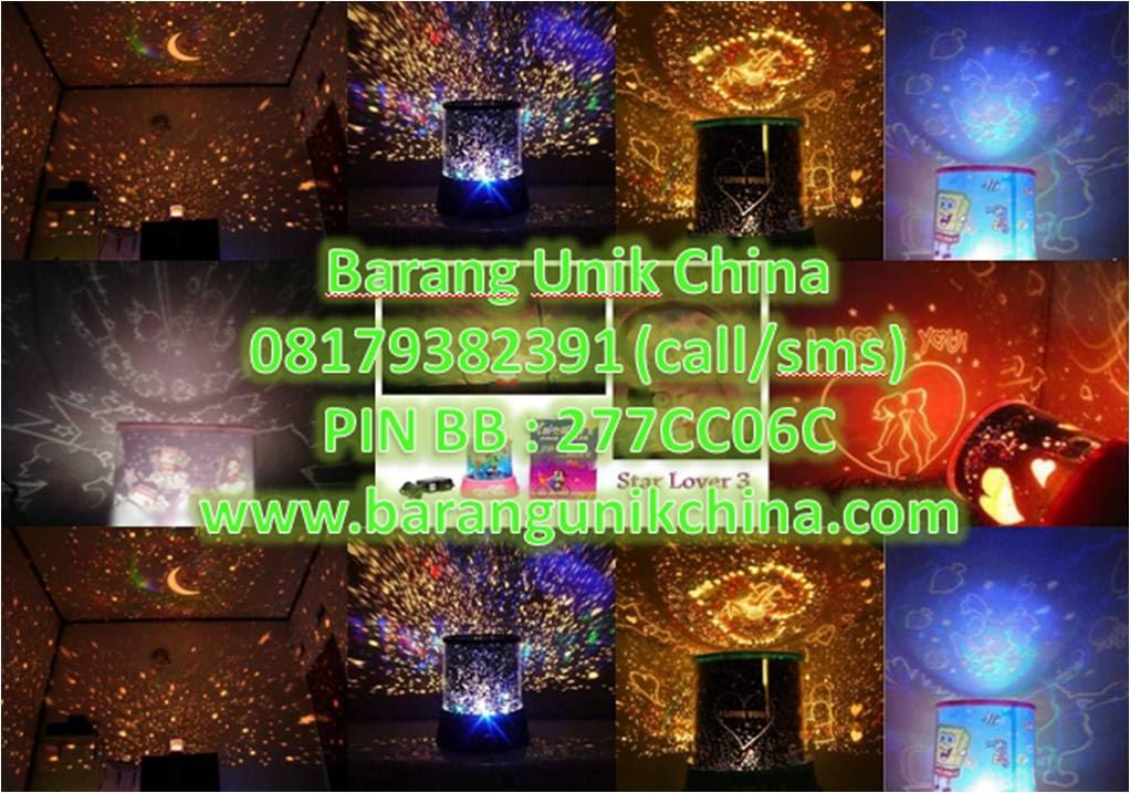 LAMPU PROYEKTOR PUTAR 008 Barang Unik China Barang