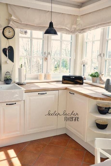 deko ideen küche landhaus