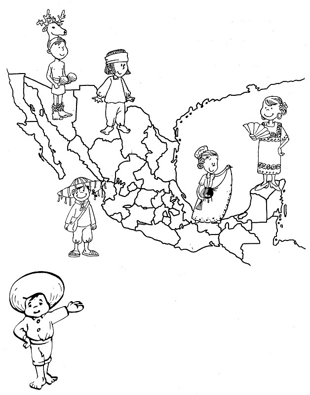 Dibujos Para Colorear De La Independencia De Mexico Az Dibujos