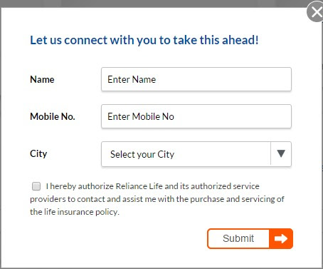 Reliance Life Insurance Online Payment | Buy Policy Online