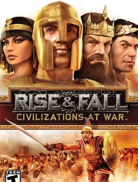 Rise and fall civilizations at war cd