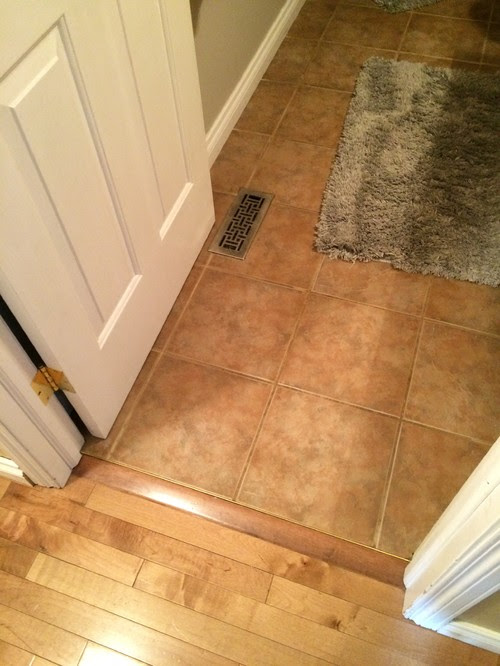 Too many different types of flooring