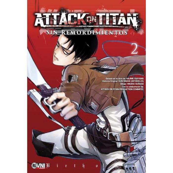 Attack On Titan Sin Remordimientos Vol 2