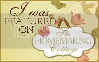 Homemaking Cottage Button