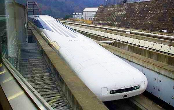 Trem Japonês a Levitação Magnética MLX01-90