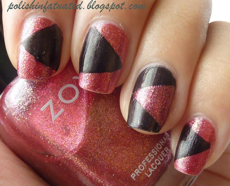 patchwork mani