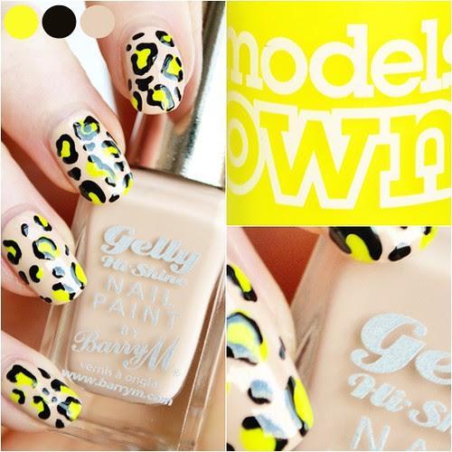 neon_leopard_print_nails