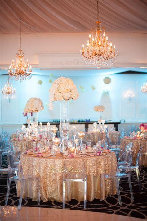 BN Wedding Decor: Omo & Emmanuel's Dreamy Pink & Gold