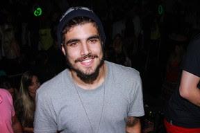 Caio Castro em festa em São Paulo (Foto: Raphael Castello/ Ag. News)