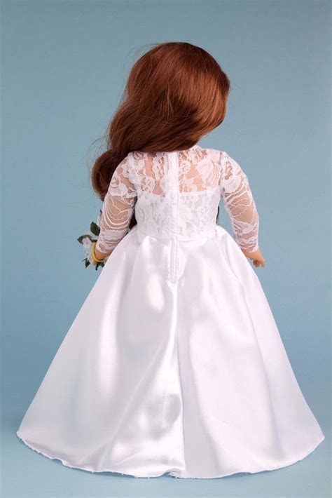 Princess Kate   Clothes for 18 inch Doll   Royal Wedding