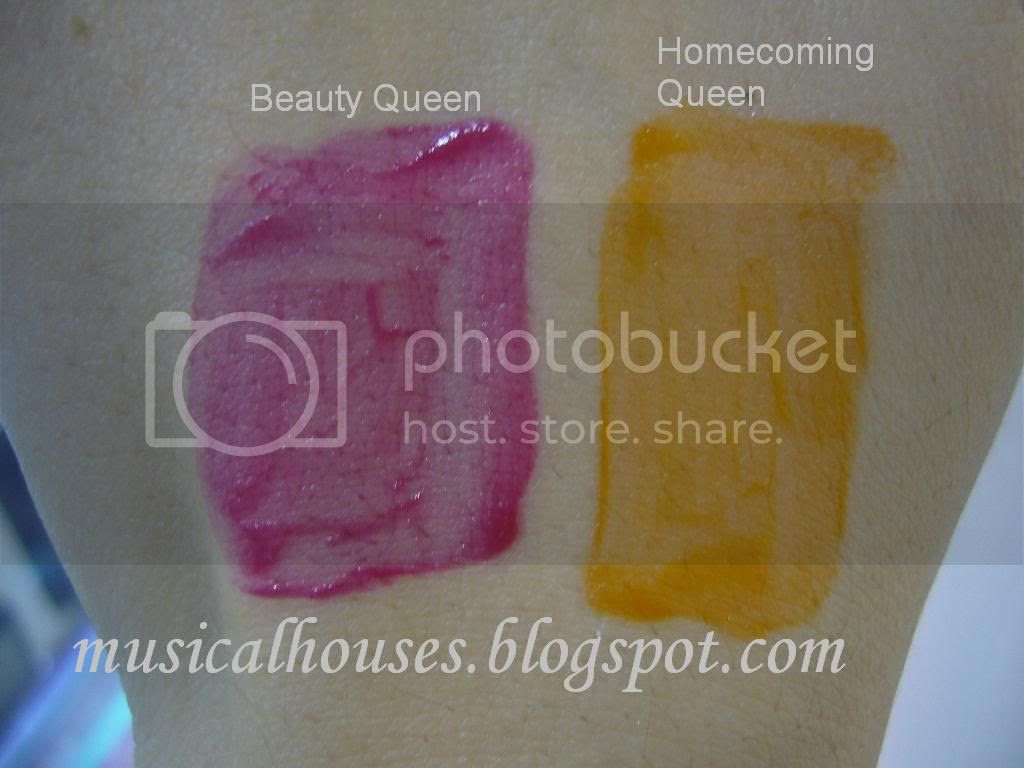 thebalm stainaic swatches beuty queen homecoming queen