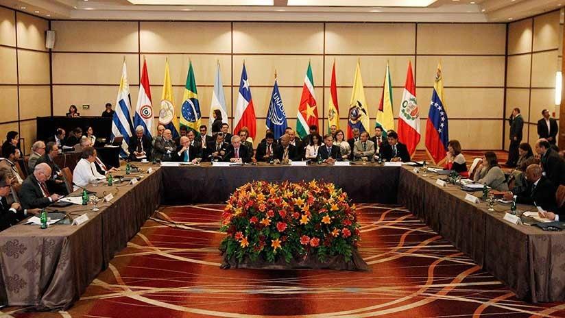 Resultado de imagen para Argentina, Brasil, Chile, Colombia, Paraguay y Perú se retiran de la Unasur