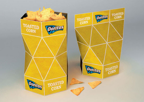 Doritos Packaging Design Concept 3 30+ Crispy Potato Chips Packaging Design Ideas