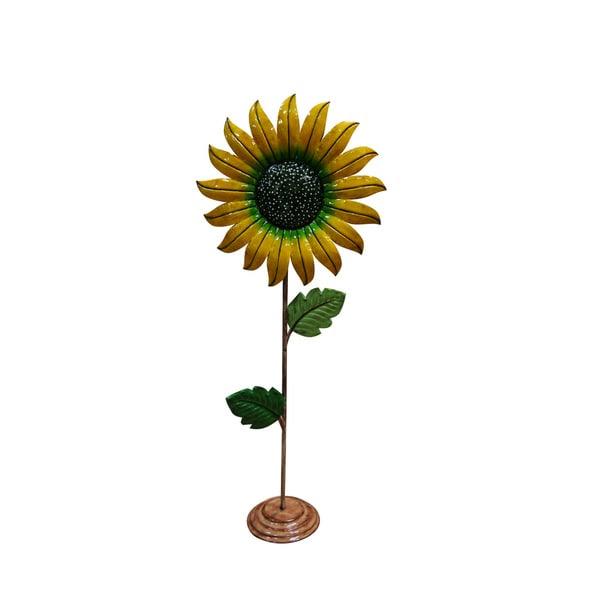 Metal Sunflower Garden Decor - Medium - 16693172 ...