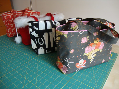 All the bags I've made from S8331