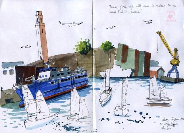 Brest-manoeuvres-port
