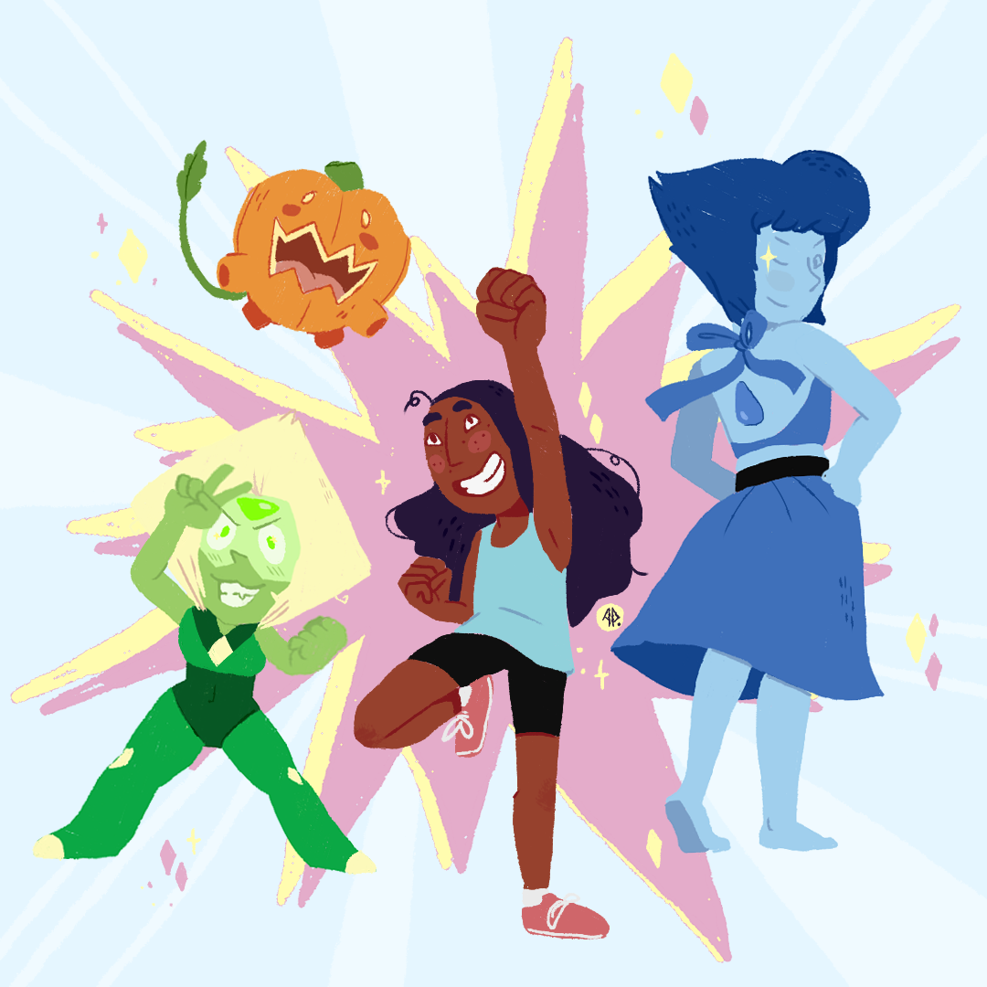 Fanart Friday!The Crystal Temps, 10/10 best replacement for the Crystal Gems. This episode really shaped a very good team!
