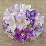 Kwiaty Lilie - mix filletowe - 5szt