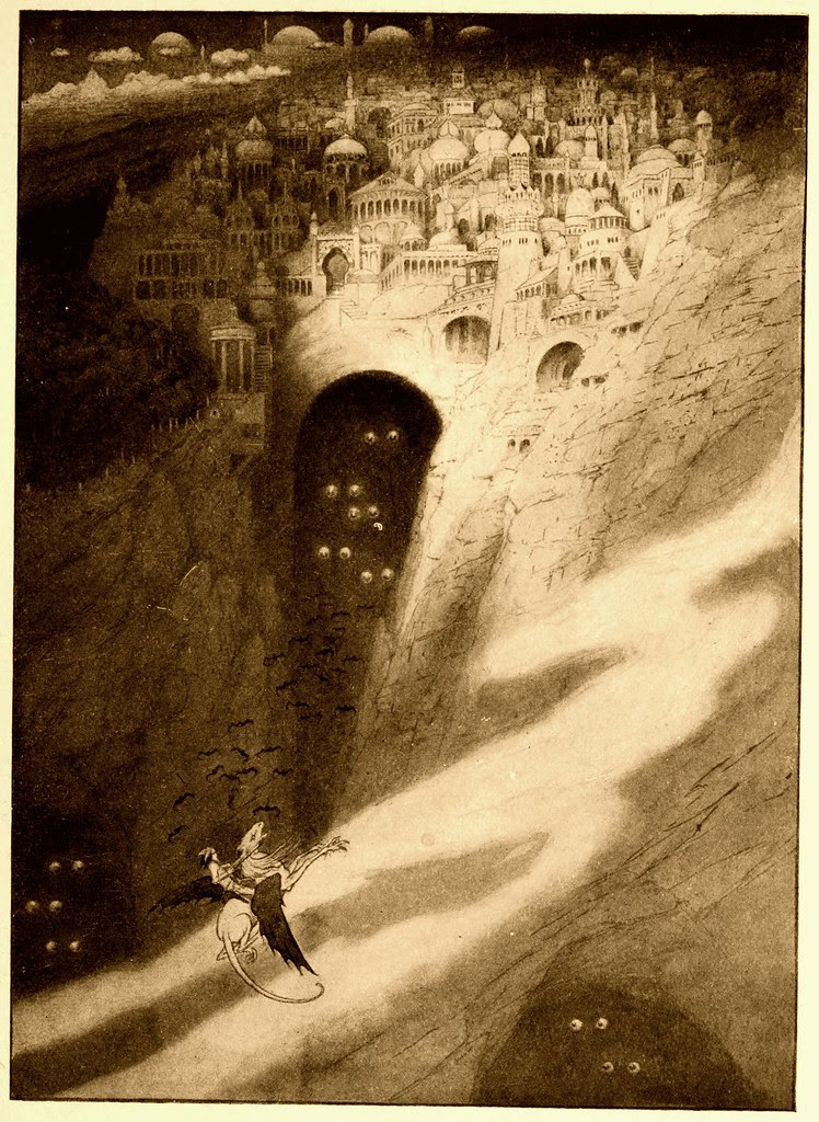 Sidney Sime - The City of Never (1912)