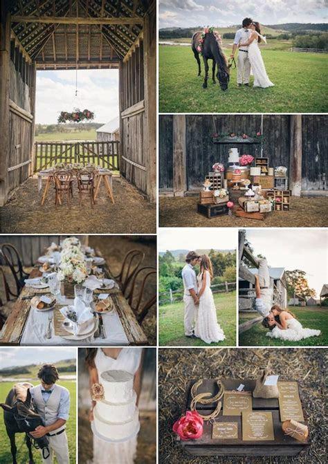 Kara's Party Ideas Rustic Country Barn Wedding {Party