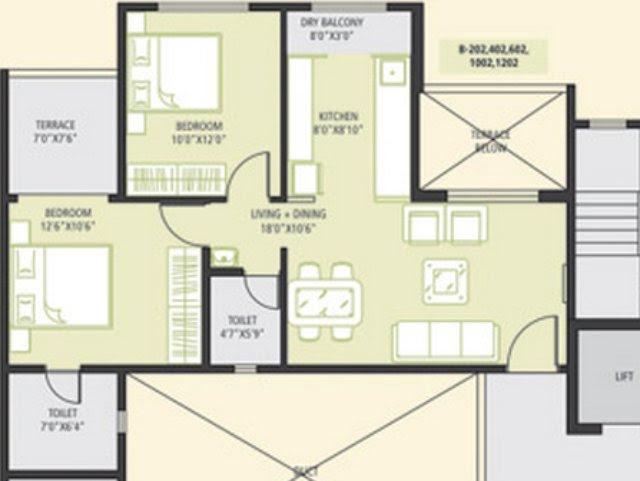 urbangram - 639 Carpet - 53 Terrace - 865 Saleable