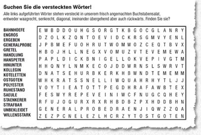 Wörter Mit Buchstaben Finden