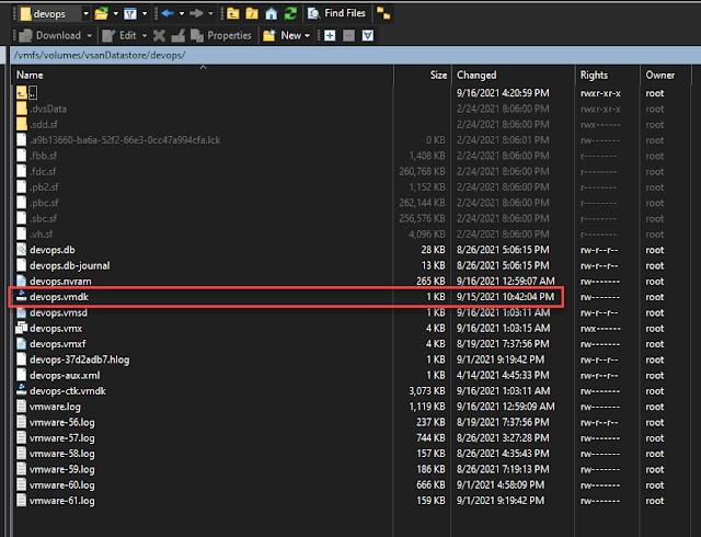 Move a vSphere vSAN ESXi VM to VMware Workstation