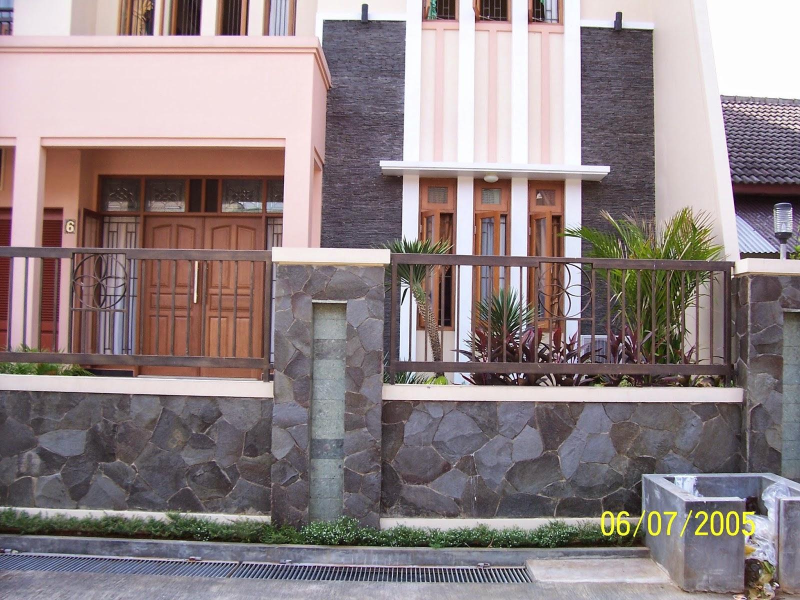 21 Rumah Minimalis Batu Alam Kecil   Gubukhome