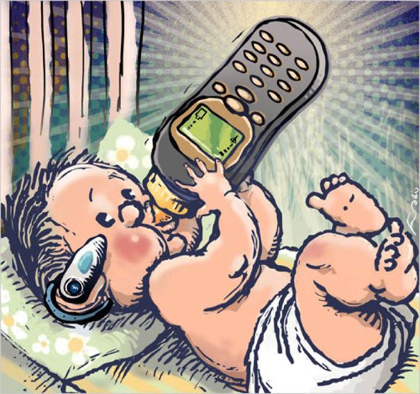 Bebê da nova geração.